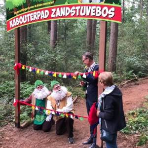 Kabouterpad geopend